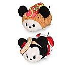 Mickey and Minnie Mouse ''Tsum Tsum'' Plush Chicago Set - Mini 3 1/2''