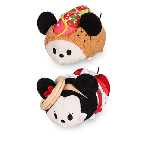 Mickey and Minnie Mouse ''Tsum Tsum'' Plush Chicago Set - Mini 3 1/2''
