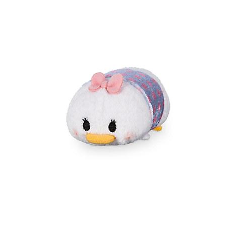 Daisy Duck ''Tsum Tsum'' Plush - Polka Dot - Mini - 3 1/2''