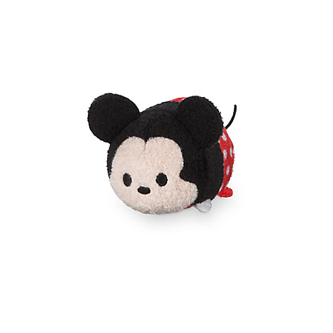 Mickey Mouse ''Tsum Tsum'' Plush - Polka Dot - Mini - 3 1/2''