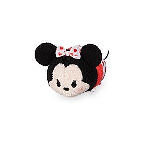 """Minnie Mouse """"Tsum Tsum"""" Plush – Polka Dot – Mini – 3 1/2"""""""