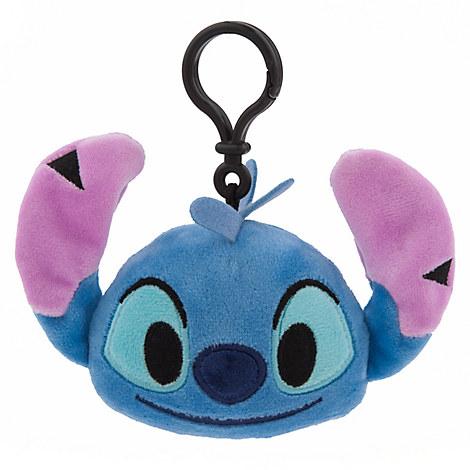 Stitch Emoji Plush Backpack Clip - 4''