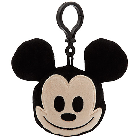 Mickey Mouse Emoji Plush Backpack Clip - 3''