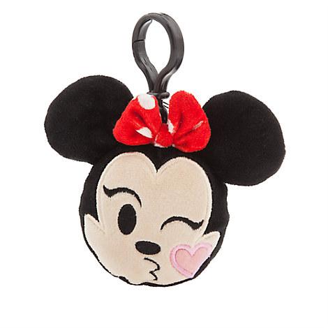 Minnie Mouse Emoji Plush Backpack Clip - 3''