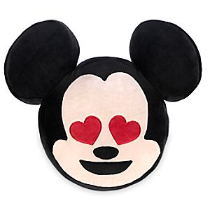 Mickey Mouse Emoji Plush Pillow