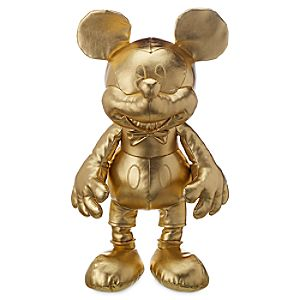 Mickey The True Original Plush - Gold Collection - Large