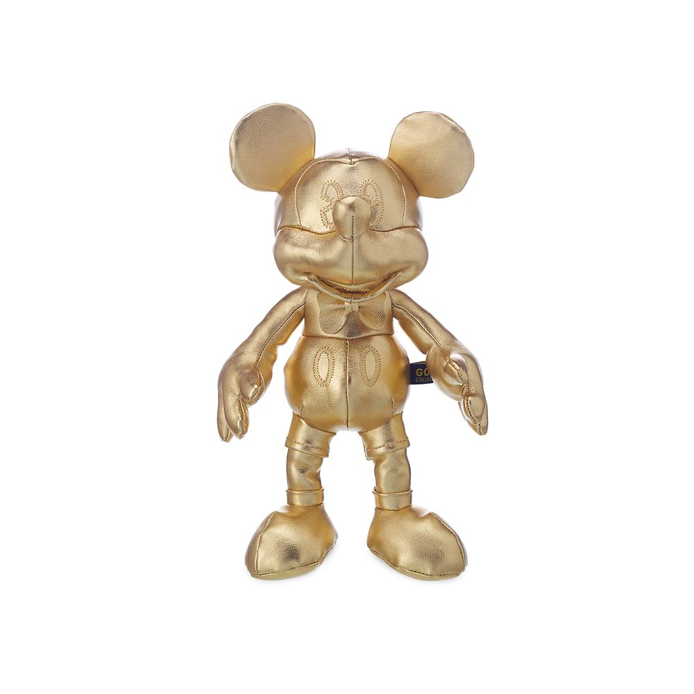Mickey The True Original Plush  Gold Collection  Small  11'' Official shopDisney