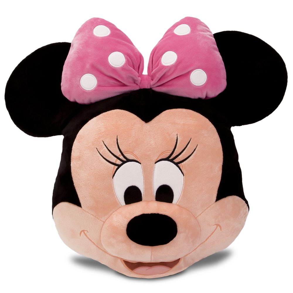 Minnie Mouse Plush Pillow – Pink – 16''