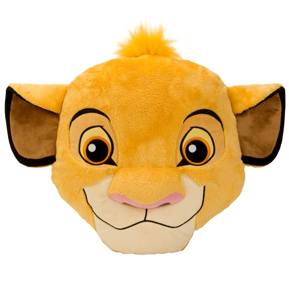 Simba Plush Pillow – 15''
