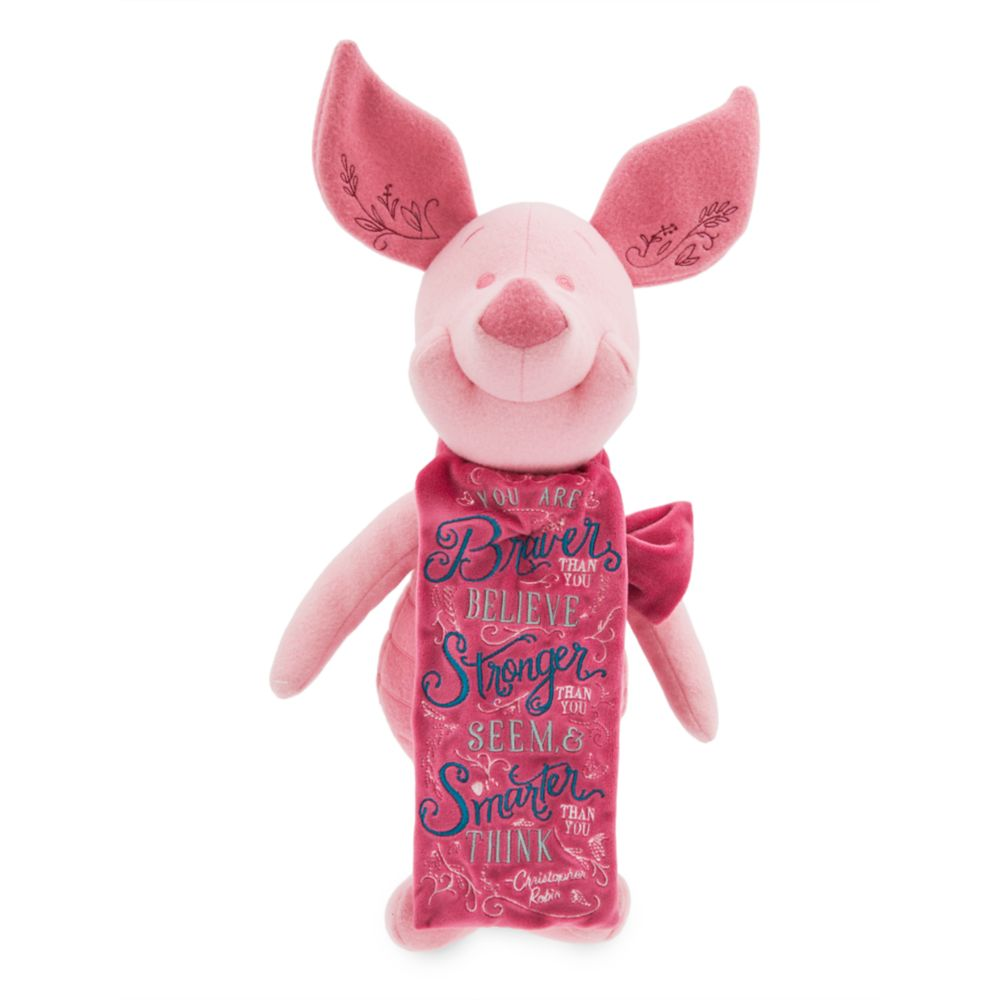 Disney Wisdom Plush  Piglet  Winnie the Pooh  April  Limited Release