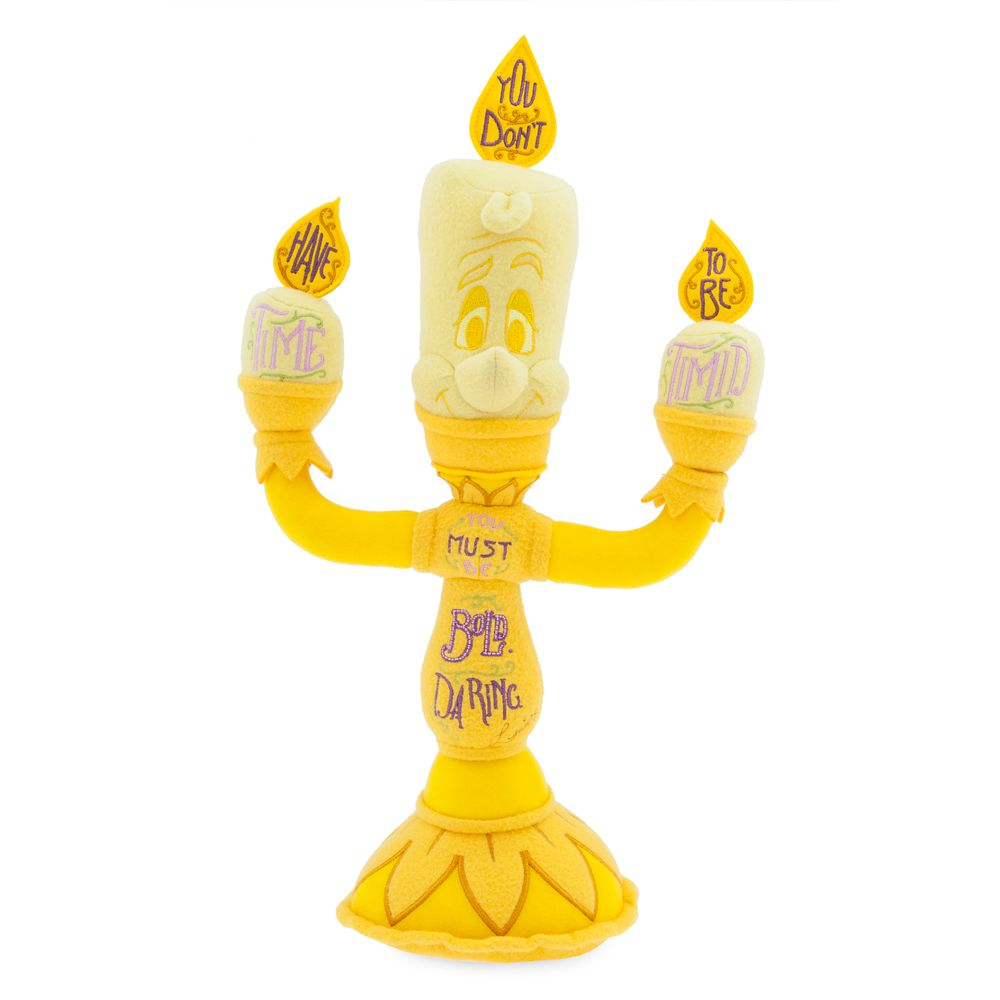 Disney Wisdom Plush  Lumiere  June  Limited Release