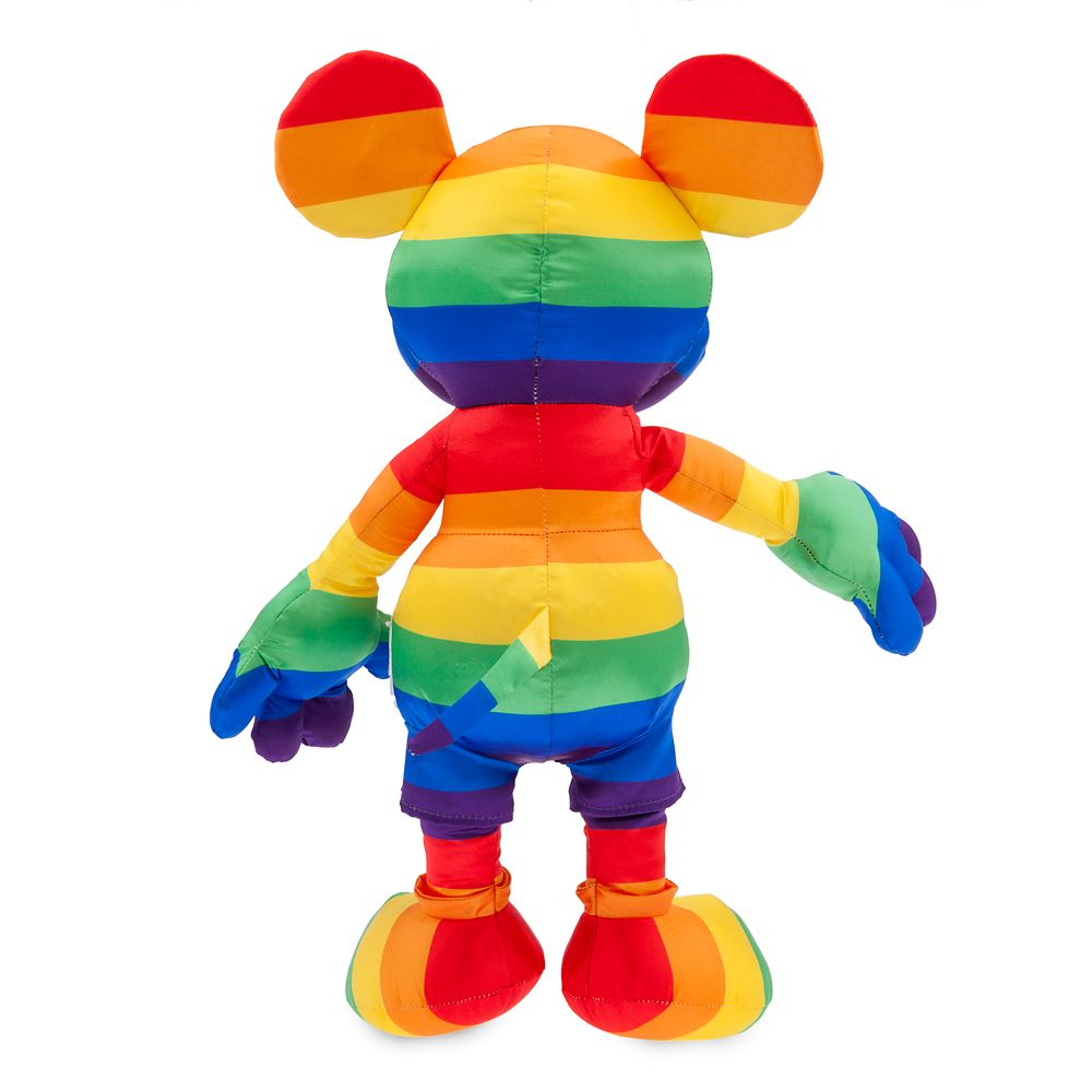 Rainbow Disney Collection Mickey Mouse Plush – Medium – 15 1/2''