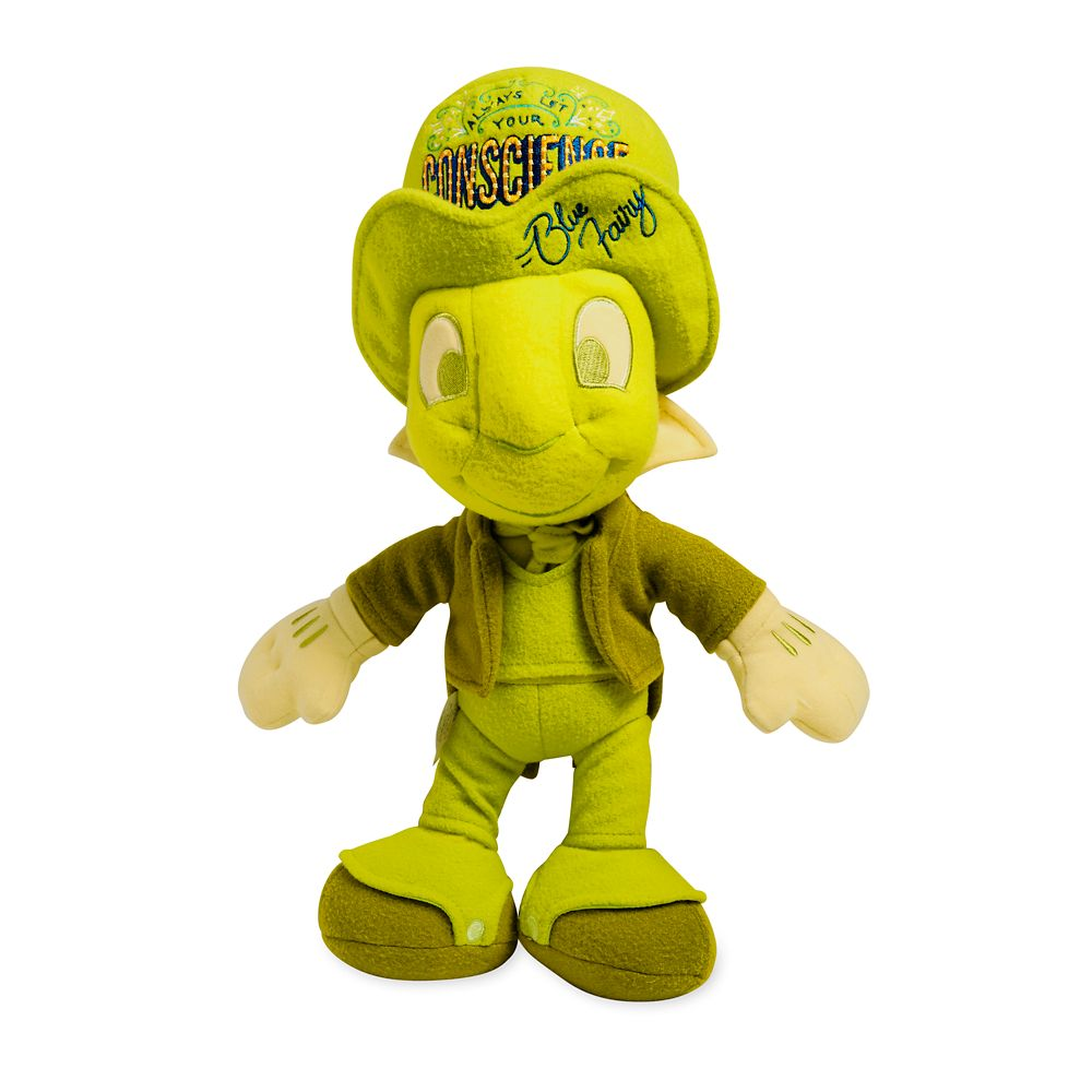 Disney Wisdom Plush – Jiminy Cricket – Pinocchio – July – Limited Release