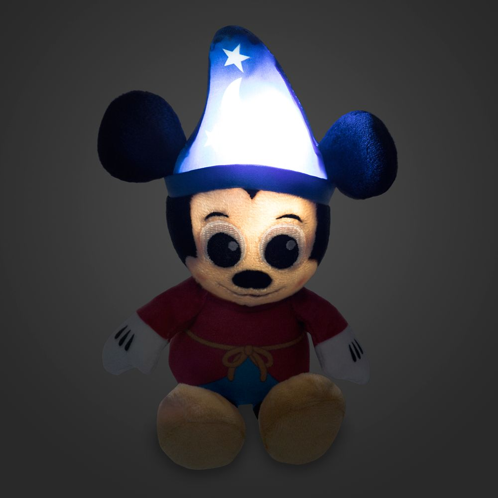 Sorcerer Mickey Mouse Light-Up Plush – Micro