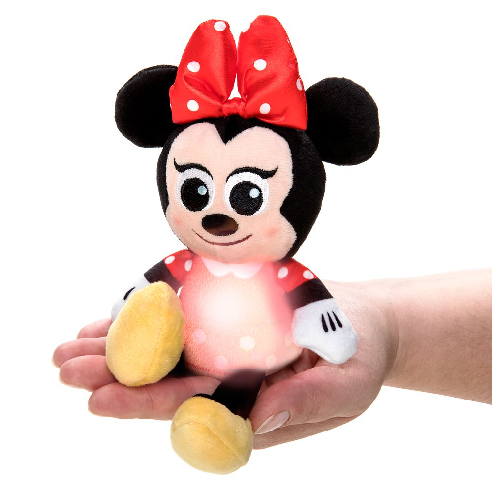 Minnie Mouse Light-Up Plush – Micro