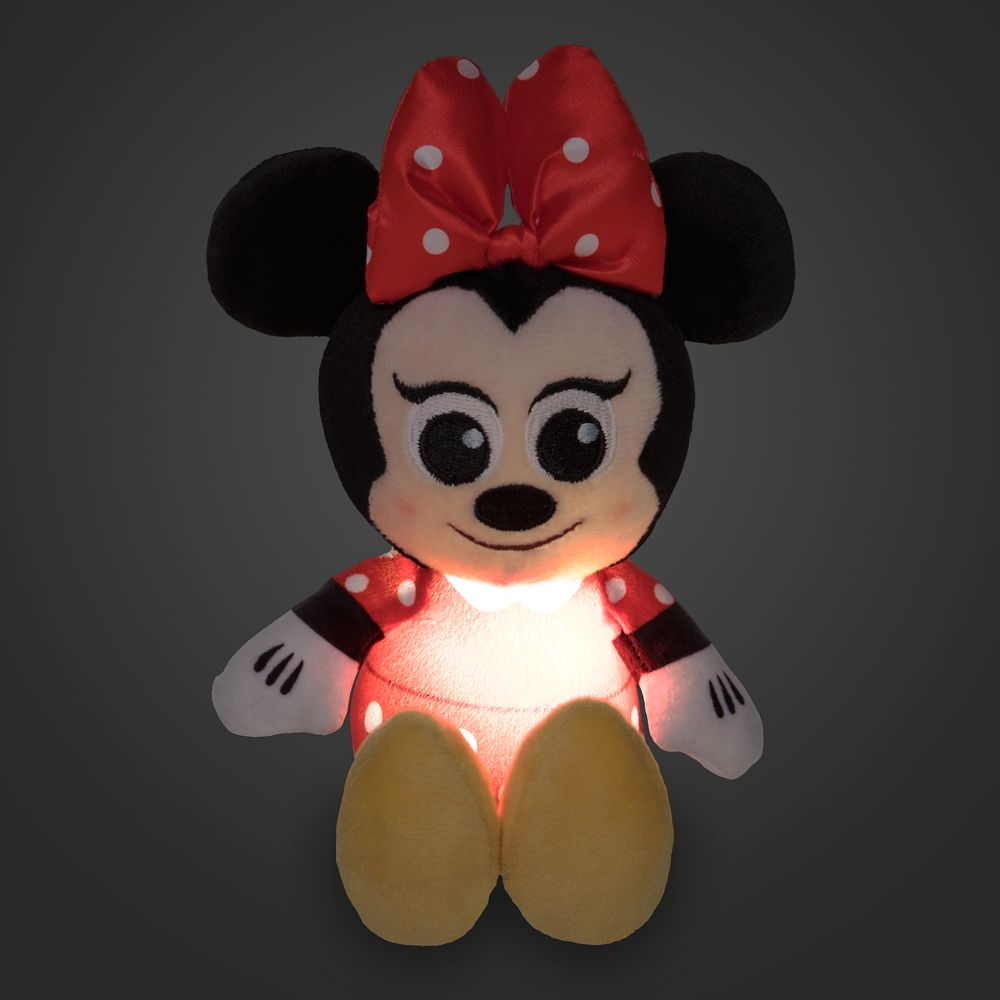 Minnie Mouse Light-Up Plush – Micro