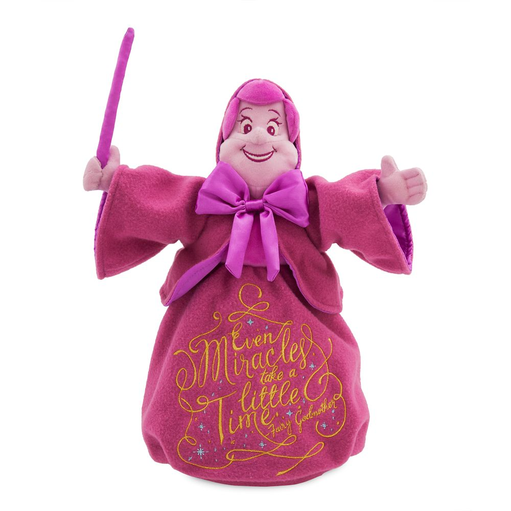 Disney Wisdom Plush – Fairy Godmother – Cinderella – December – Limited Release