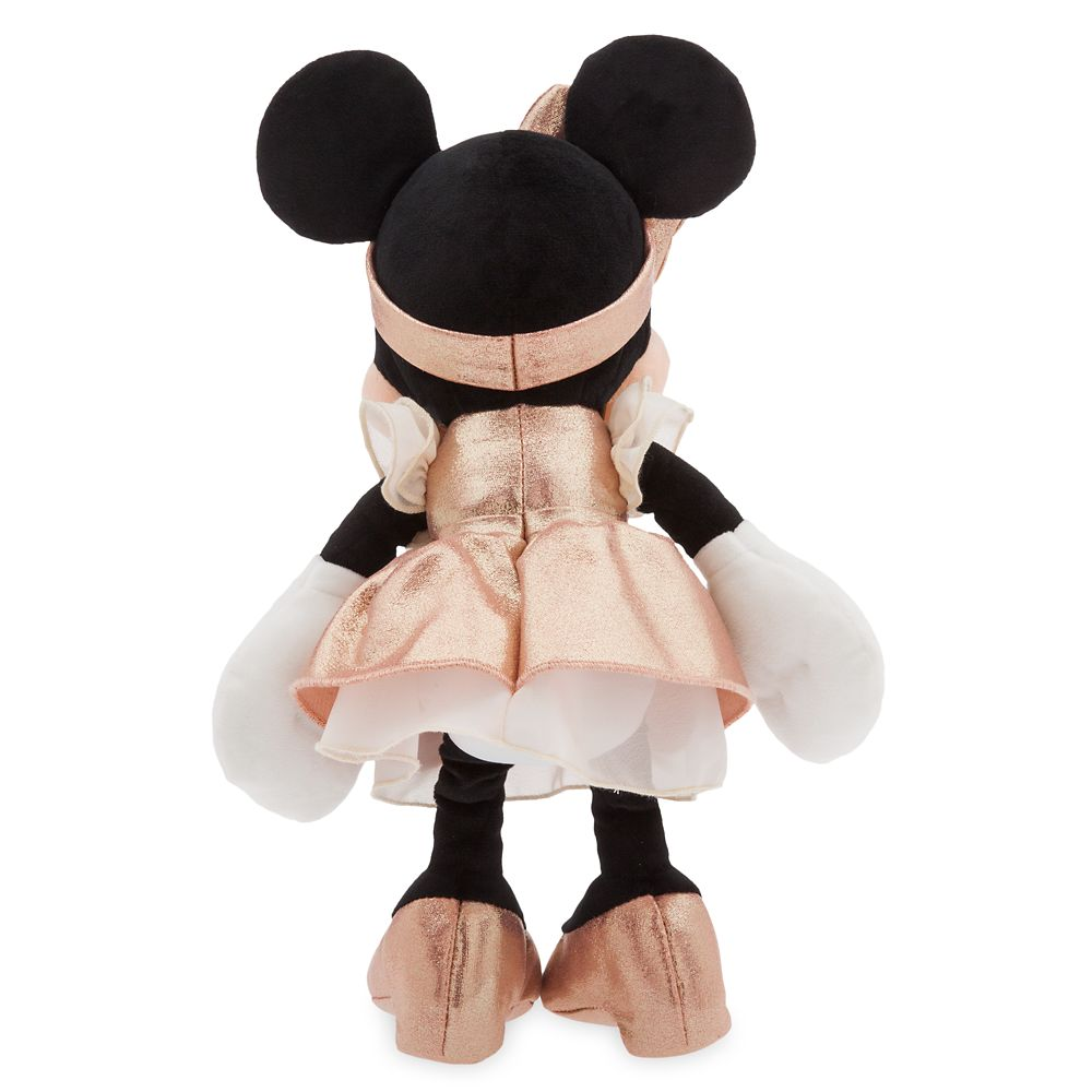 Minnie Mouse Plush – Rose Gold - Small – 12''