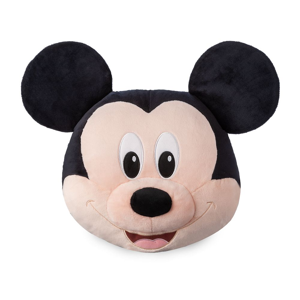 Mickey Mouse Plush Pillow – 19''