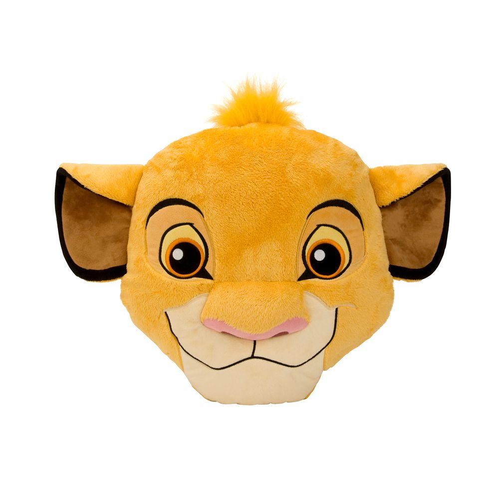 Simba Plush Pillow – 15''
