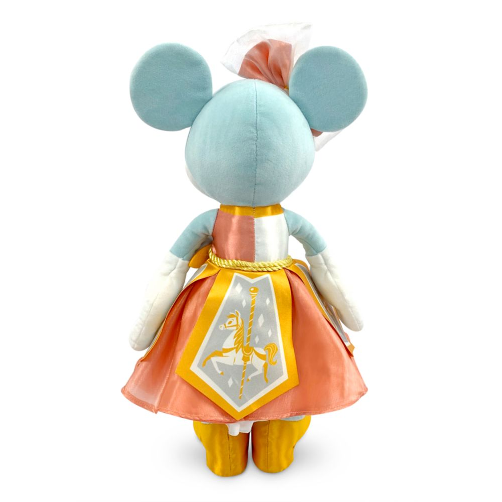 Minnie Mouse: The Main Attraction Plush – King Arthur Carrousel – Limited Release