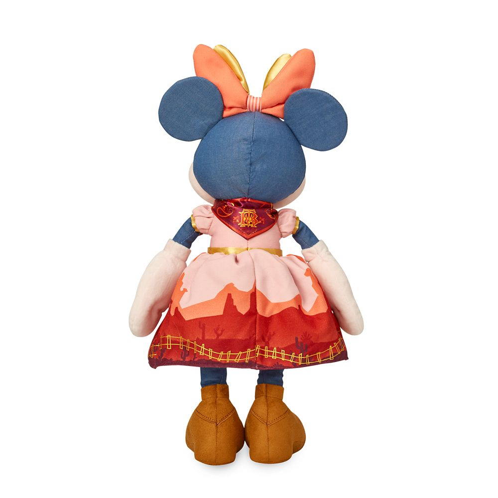 Minnie Mouse: The Main Attraction Plush – Big Thunder Mountain Railroad – Limited Release