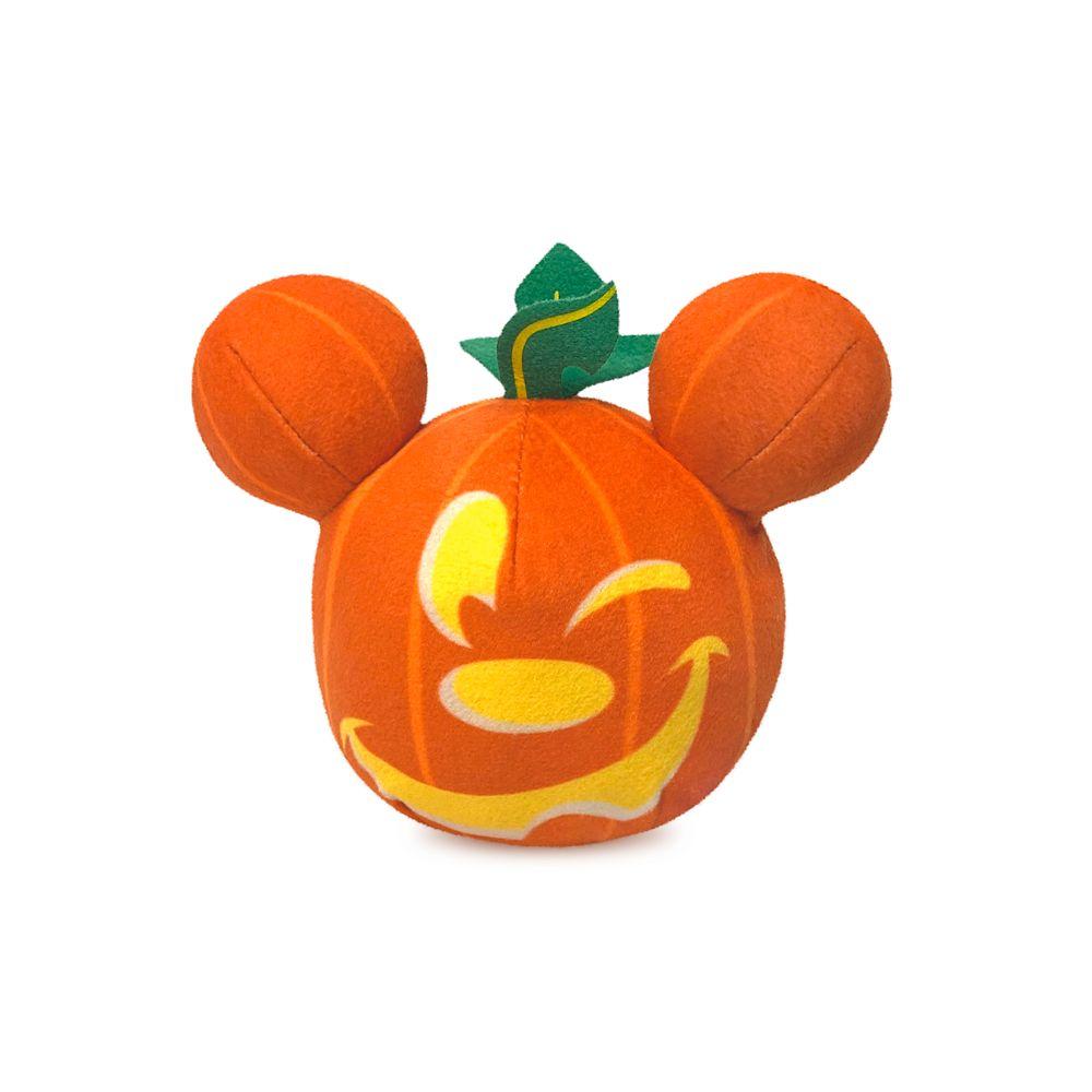 Mickey Mouse Light-Up Halloween Pumpkin Plush – Mini 5''