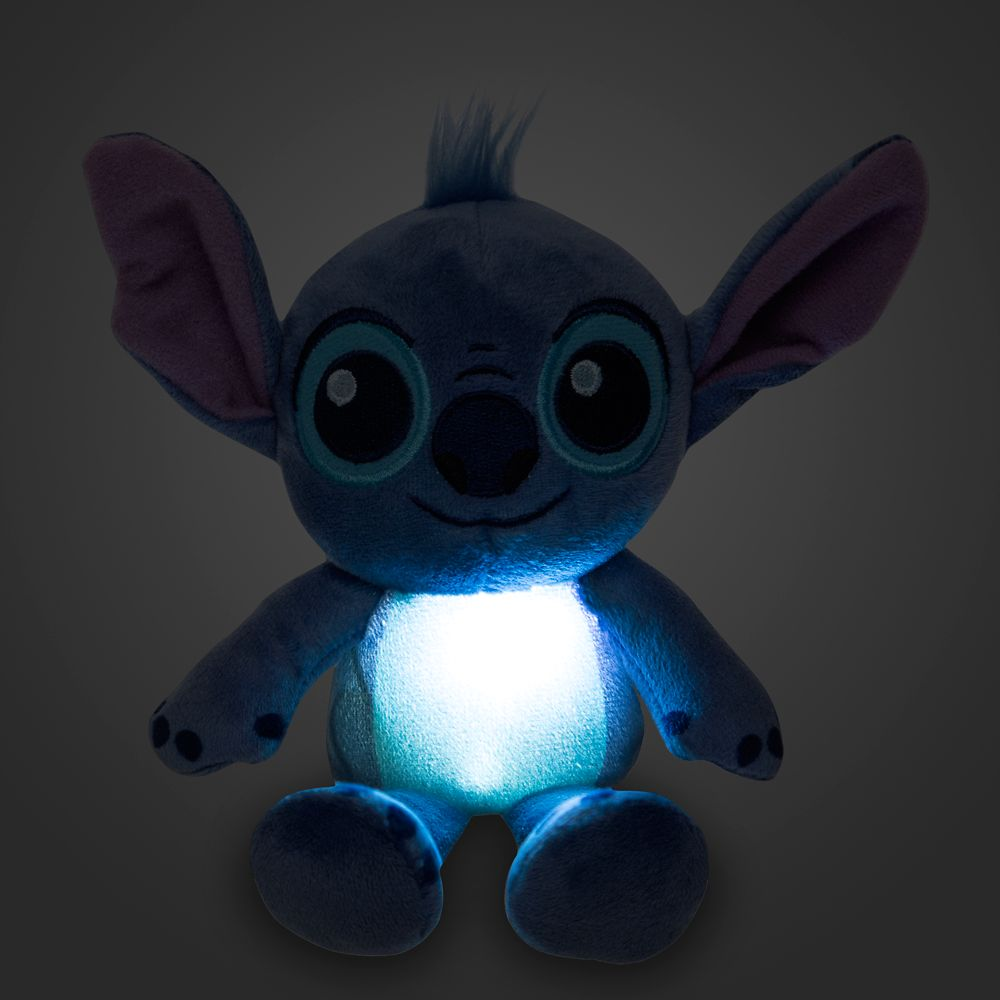 Stitch Light-Up Plush – Micro