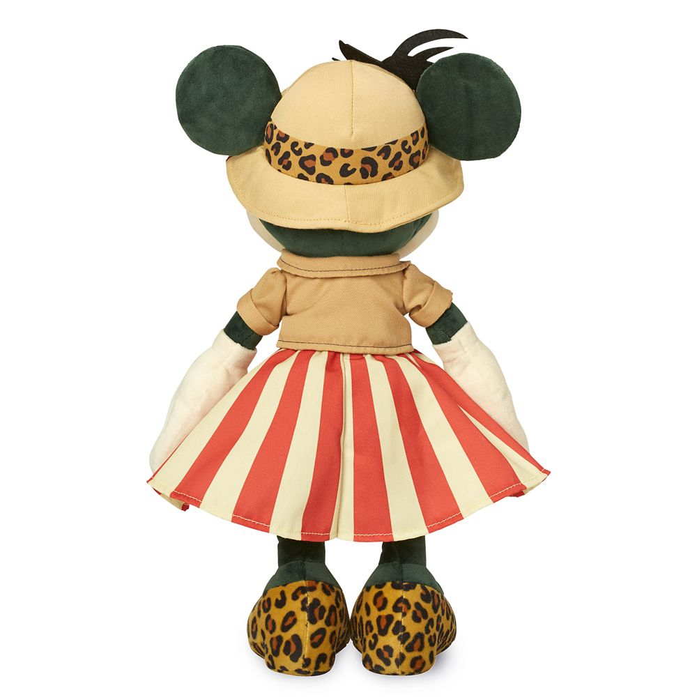 Disney Minnie Mouse The Main Attraction November Jungle Cruise Plush in HAND