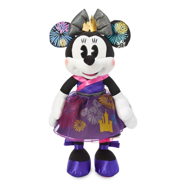 Minnie Mouse: The Main Attraction Plush – Nighttime Fireworks & Castle Finale – Limited Release