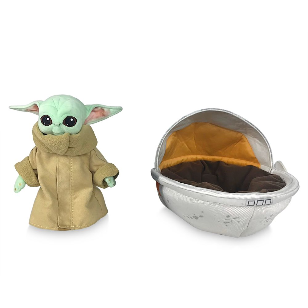The Child Plush in Hover Pram – Star Wars: The Mandalorian – Small 7 1/2''