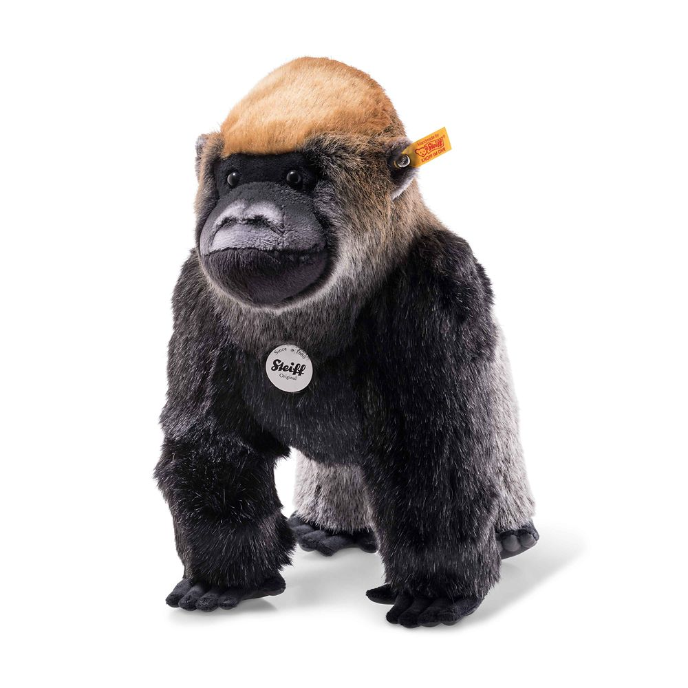 Boogie the Gorilla Plush by Steiff – 14'' – National Geographic