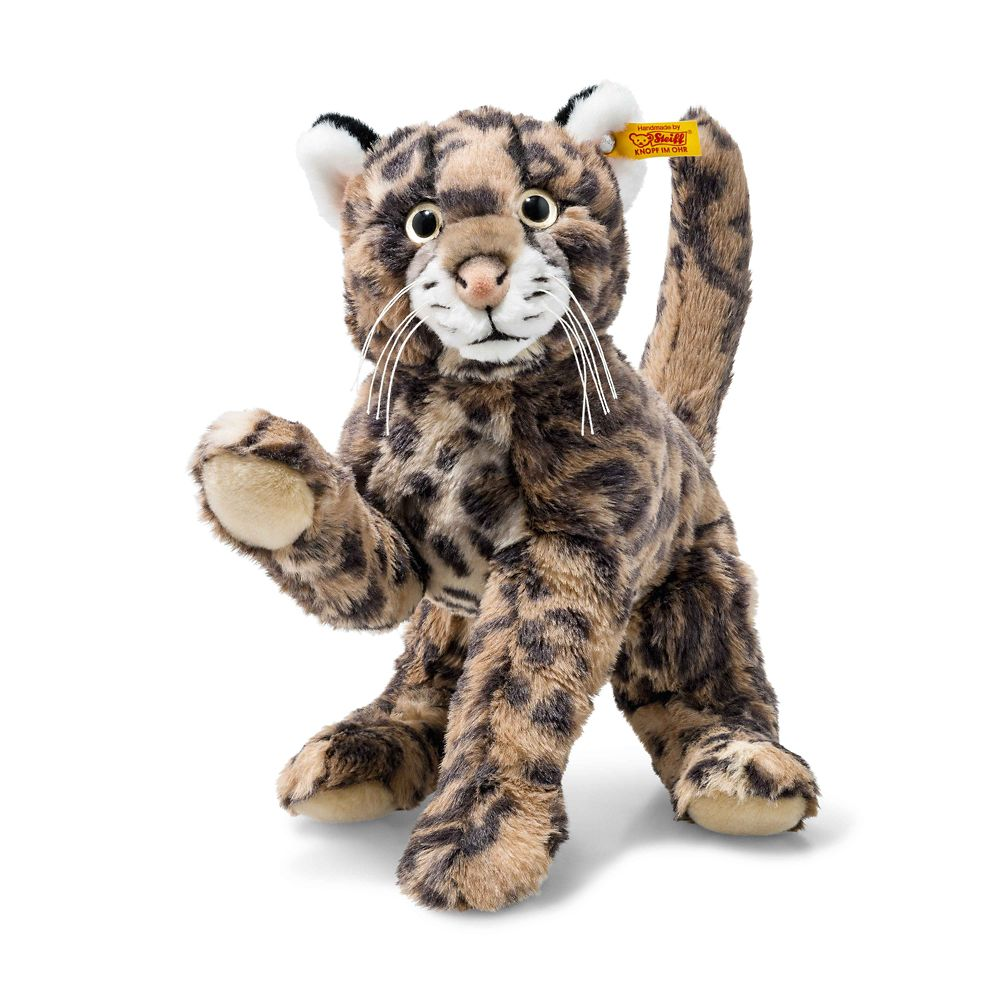 Ozzie the Tiger Cat Plush by Steiff – 13'' – National Geographic