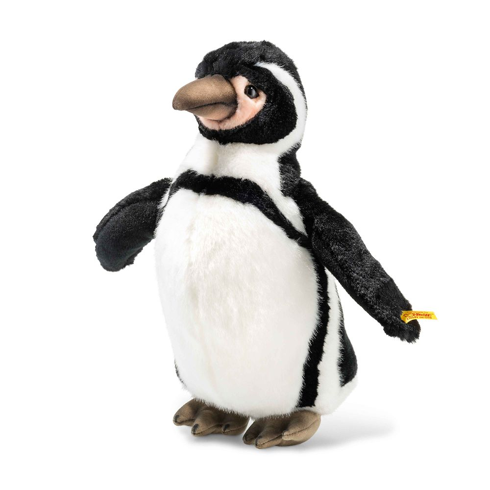 Hummi the Humboldt Penguin Plush by Steiff – 14'' – National Geographic