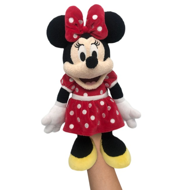 Minnie Mouse Plush Hand Puppet