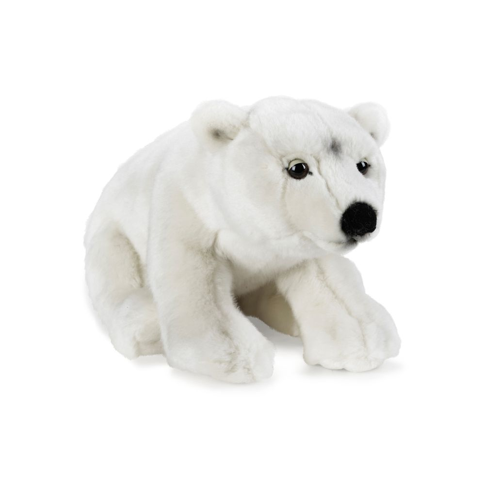 National Geographic Polar Bear Plush – 14''