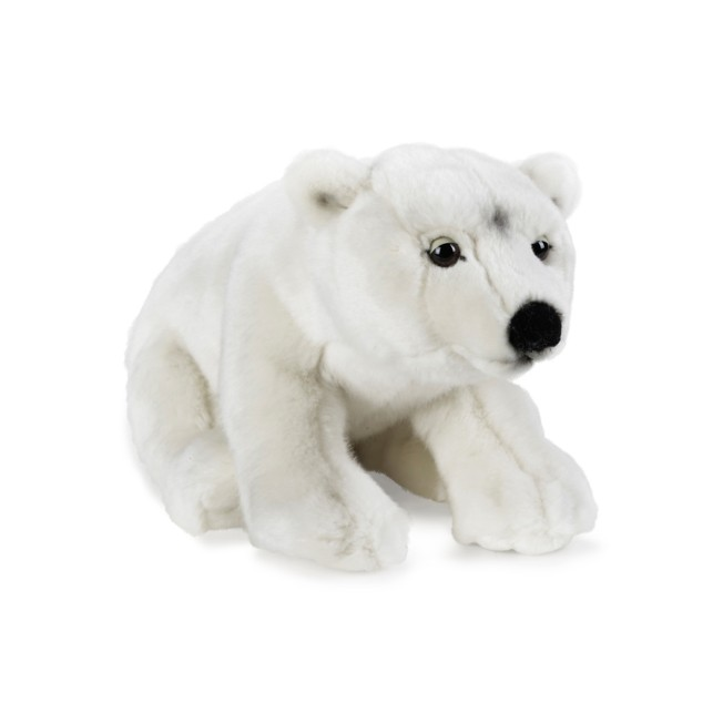 National Geographic Polar Bear Plush – 14''