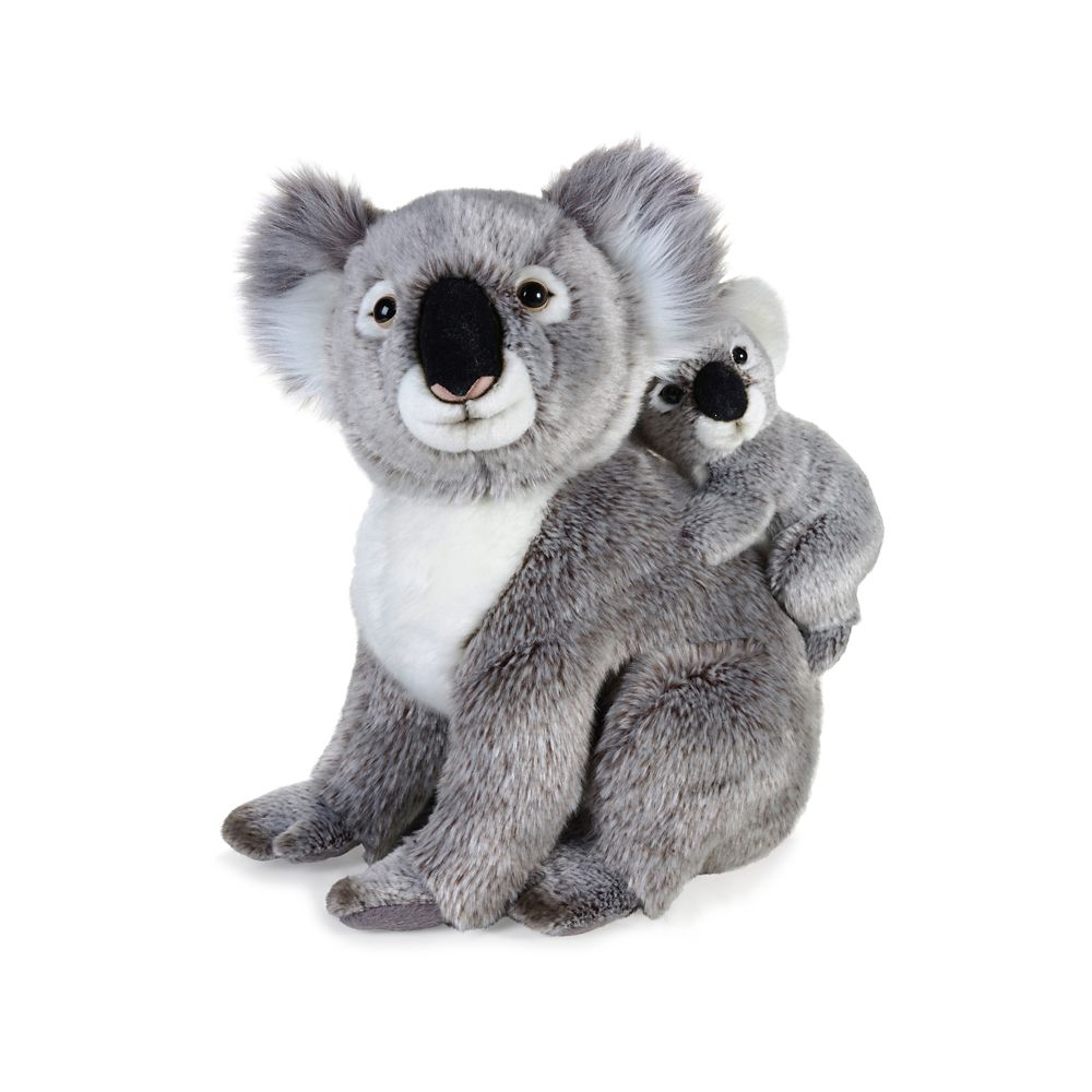 National Geographic Koala with Baby Plush – 14''