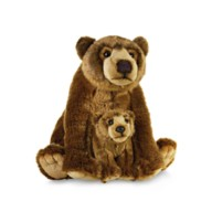 National Geographic Grizzly Bear with Baby Plush – 14''