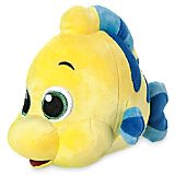 Disney Animators' Collection Flounder Plush - The Little Mermaid - Mini Bean Bag