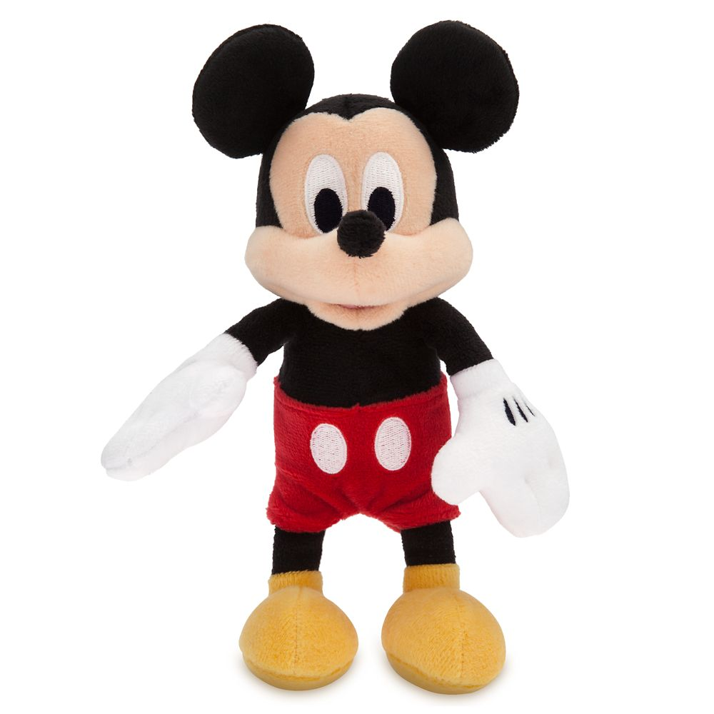 Mickey Mouse Plush – Mini Bean Bag – 9'' – Personalized
