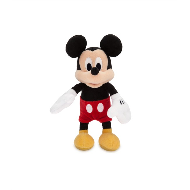 Mickey Mouse Plush – Mini Bean Bag – 9'' – Personalized