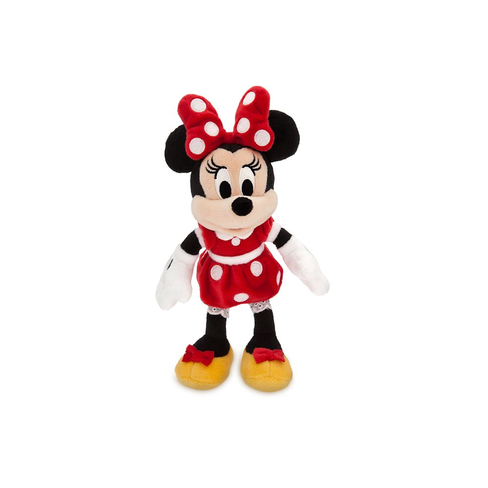 Minnie Mouse Plush - Red - Mini Bean Bag - 9 1/2 - Personalized