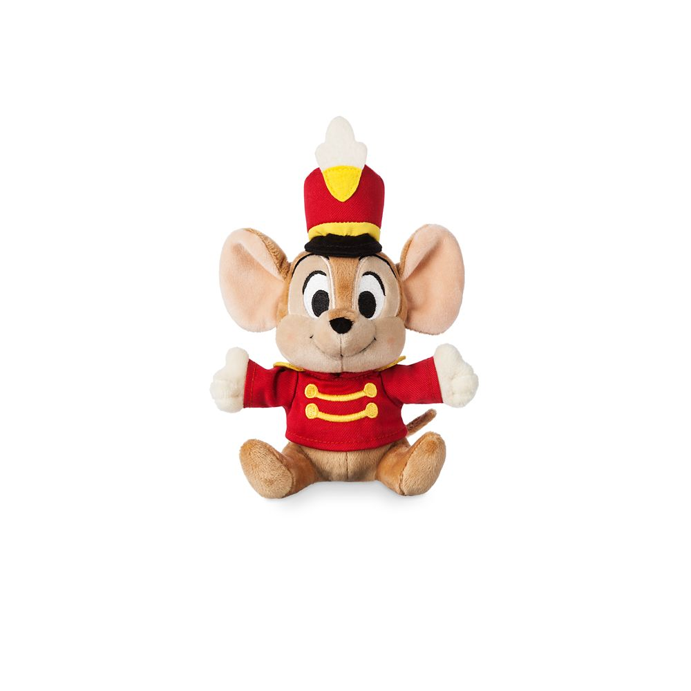 Timothy Mouse Plush  Dumbo  Mini Bean Bag  7 1/2'' Official shopDisney