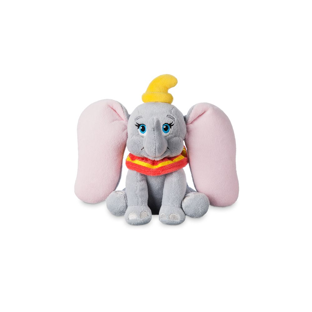 Dumbo Plush – Mini Bean Bag – 6 1/2''