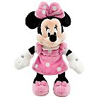 Minnie Mouse Plush - Pink - Mini Bean Bag - 9 1/4''