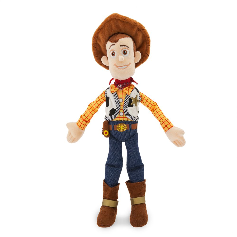 Woody Plush – Toy Story 4 – Mini Bean Bag – 12''