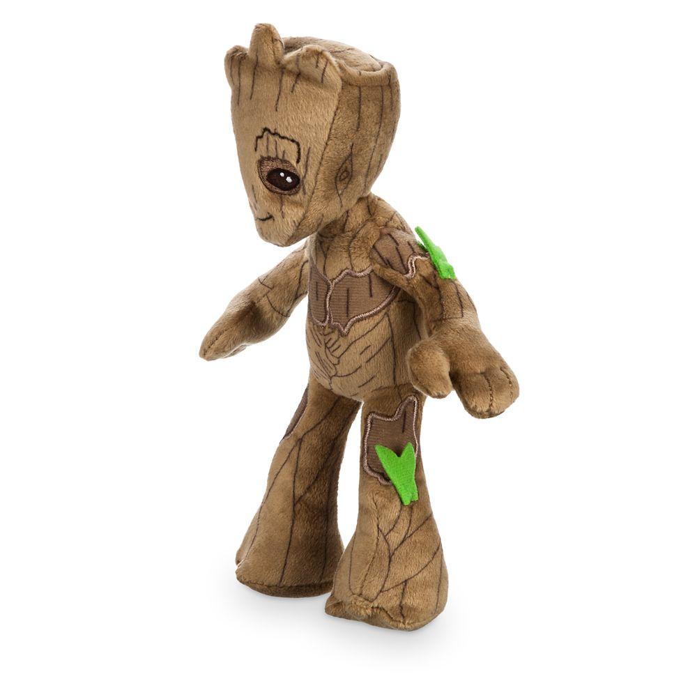Groot Plush – Guardians of the Galaxy Vol. 2 – Mini Bean Bag – 8 1/2''
