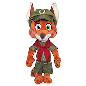 Nick Wilde Plush - Zootopia - Mini Bean Bag - 9''