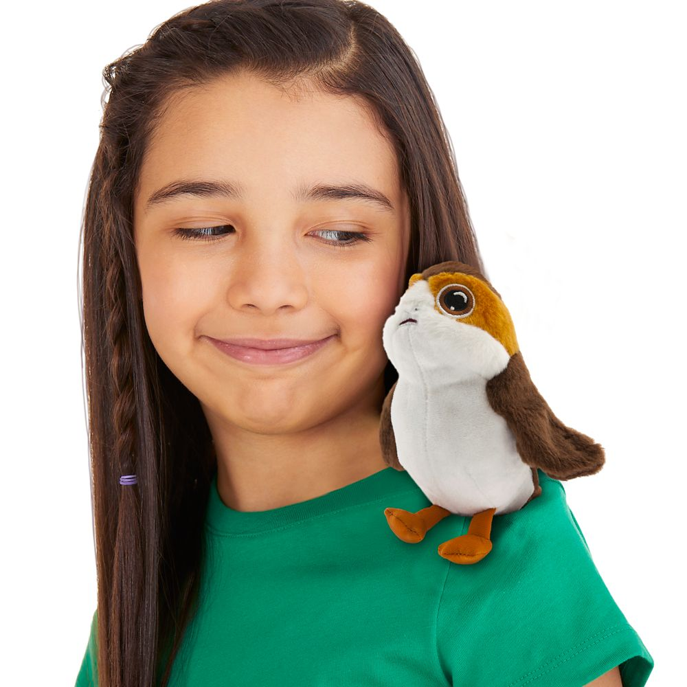 Porg Mini Magnetic Shoulder Plush – Star Wars